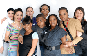 group of young people of different ethnicity